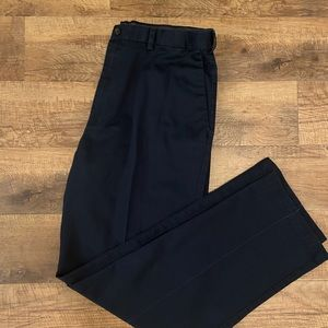 Haggar Men's navy blue dress pants